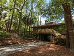 Coastal Tides Cottage is tucked away under the Inlet Cove tree canopy.