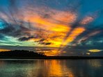 Be sure to watch the sun set from the Inlet Cove community boat dock and kayak launch!