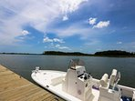 Let us know if you are interested in chartering a boat during your stay.