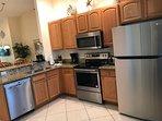 Modern Kitchen W/All Brand New Stainless Steel Appliances!