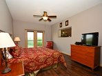 Well appointed King Size Suite with Private Bathroom with walk-in shower and Jacuzzi tub.