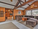 Rest easy inside 1,700 square feet of living space.