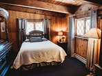 The master bedroom with a queen-sized bed will provide a great nights rest after your fun-filled days.