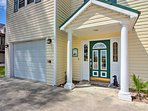 The quaint townhome sleeps 9 with accommodations for up to 14.