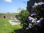 The garden at Carthouse Barn