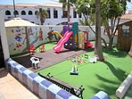 Safe & secure children's play area