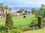 Amarilla golf course - a 1 minute walk