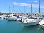 Amarilla's marina - just a 5 minute walk away