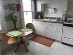 bright  fully equipped kitchen, plus eating in for 2.