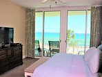 Amazing views from your master bedroom, plus walk out to the balcony
