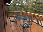Spacious Deck With picnic table, gas grill & lounge chairs