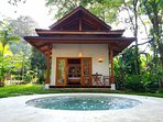 Bungalow 1 and pool
