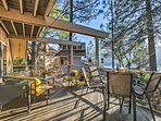 Step out to your luxurious patio space and enjoy the views.