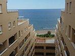 Vista del Mar desde la entrada al apartamento