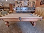 Enjoy a game of pool in the common area.