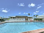 Soak up the Florida sun by the community pool.
