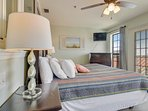 Horizon South Building 55 Unit 301-Bedroom with King Bed