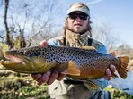 There are many outfitters in the area to consult about fishing excursions, kayaking, river tubing, and more! #fishing