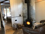 The cosy woodburning stove