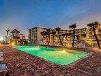 Resort-shared outside pool