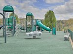 Your kids are sure to love the playground.