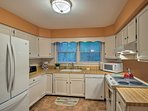There's no limit to what you can create in the fully equipped kitchen.