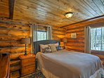 Two can share this well-appointed second bedroom.
