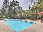 Relax by the pool during your stay at this vacation rental home in Aberdeen!