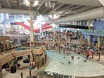 Kalahari Water Park Interior View