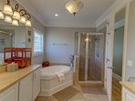 Master Bathroom!  Like a Day at the Spa!
