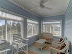 Sunroom!  The Perfect Hideaway!
