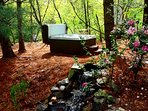 Your own relaxing hot tub in the woods!