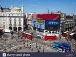 Piccadilly Circus - And easy tube ride away