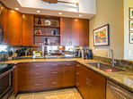 Stunning remodeled kitchen with stainless appliances