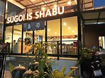 Sugoi Is Shabu Chiang Mai - 1 minute for the house.