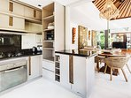 Want to eat in the kitchen is fully equipped and our lovely villa team will make you breakfast daily