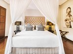 Relax in air-conditioned comfort in the master bedroom with its own large ensuite