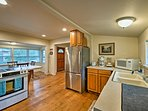 Prepare farm-to-table feasts in the fully equipped kitchen.