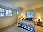 Two spacious bedrooms await to deliver a sound night's sleep.