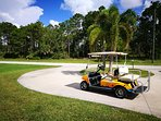 Travel in style to the golf course