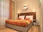 Bedroom with king-sized double bed