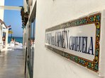 The narrow streets of La Carihuela village and the enormous beach are just 5 minutes walk away.
