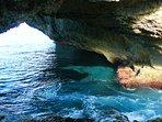 Glass Window ocean cave.