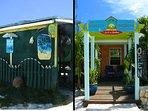 Walk to the Da Spot Bar and Front Porch Restaurant. Trip Advisor favorites.