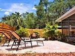 Bathe underneath the Florida sun! Perfect for some R&R.