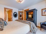 The second guest bedroom can sleep two guests in the split king bed.