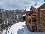 Follow the road down to the base of Mountain Village and Telluride Resort.