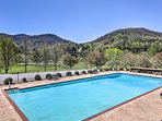 Take advantage of the numerous resort amenities, including this heated pool.