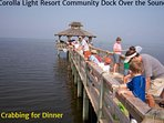 Fun Crabbing on the Community Dock