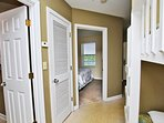 Access to the Master Bedroom and the Bathroom